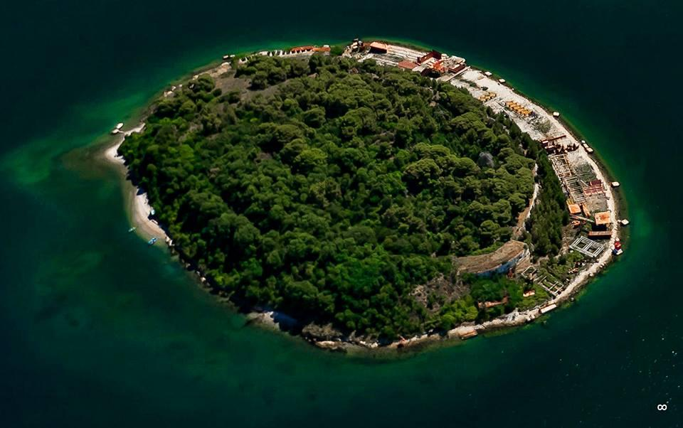 Pula from Air Island Sv. Andrija