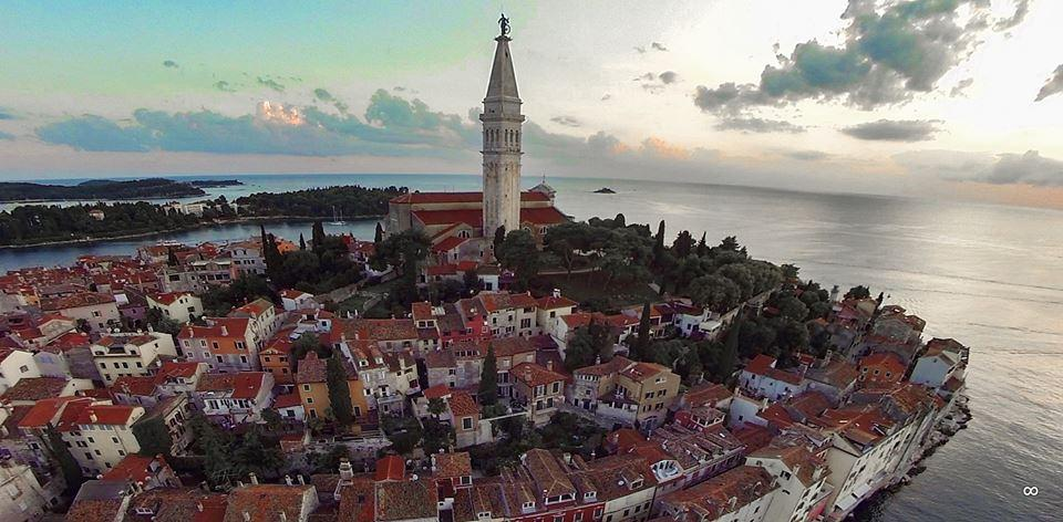 Rovinj from Air