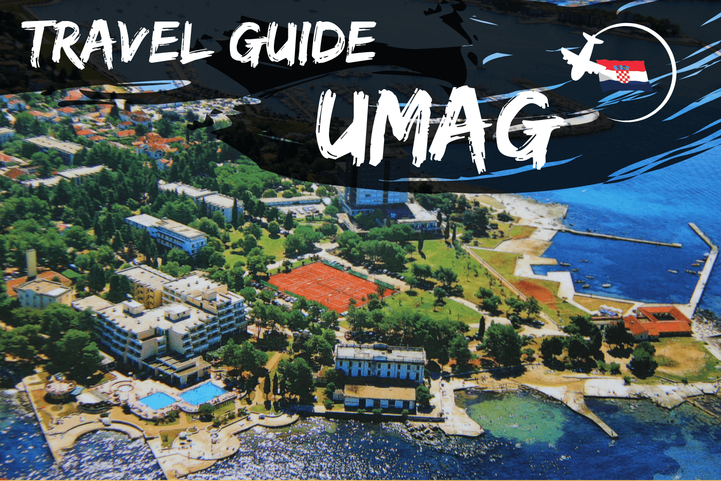 Aerial picture of Umag